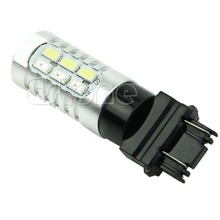 New Useful 1PC 3157 50W 5630 Dual Color Switchback Yellow White LED Turn Signal Light Bulbs