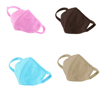 1 Pc Cotton Anti-Dust Mouth Face Mask Respirators Health Care Windproof Mouth-muffle bacteria proof Flu Face masks 11 Colors