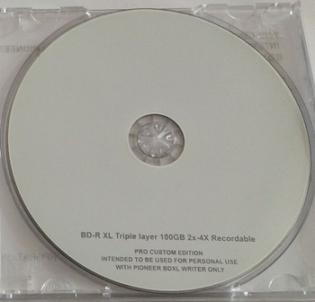 Blank Disks