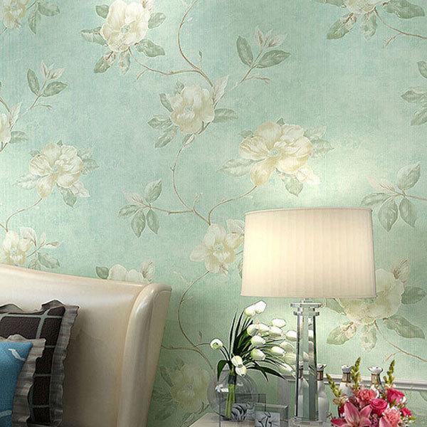 Fresh Country Romantic Wedding Room Decor Wallpaper Vintage Elegant ...