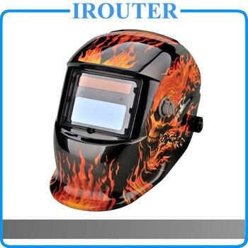 eee9351ba4 MOSKI... oscurecimiento Auto Solar MIG MMA eléctrico Máscara de Soldadura/ casco/tapa soldador de soldadura/soldadura lente para la máquina de  soldadura