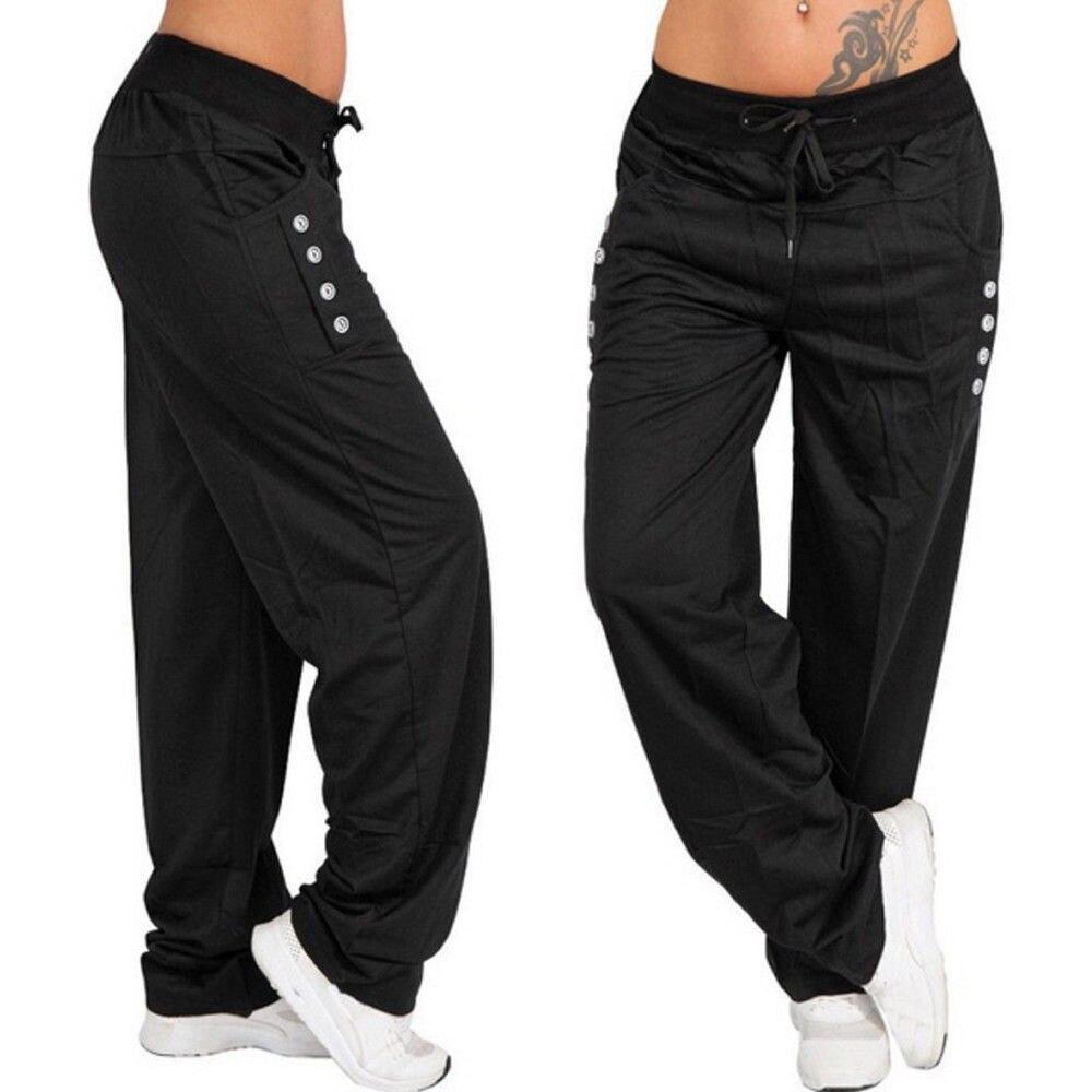 Women Long   Pants   Trousers Women Autumn Winter   Wide     Leg   Sports Loose Casual   Pants   Spring Summer sweatpants joggers women   pants