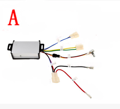A STYLE Remote control child car Slow start device electric car speeder speed limit controllers toy car accessories 6V 12V 30a esc welding plug brushless electric speed control 4v 16v voltage