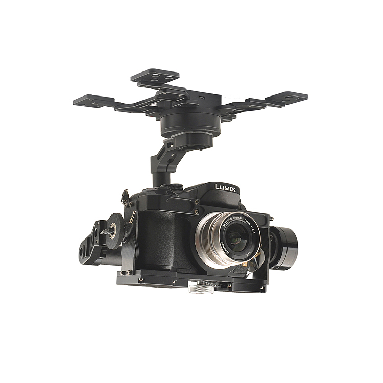 New Arrival HG3D+ Aerial Photography 3-aixs Brushless Gimbal Integrated HDMI to AV Remote Shutter Compatible with GH3 GH4 GH5 смазка hi gear hg 5509
