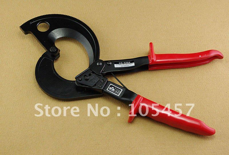 New Cu/al Cables Ratchet Cable Cutter Cuts Up To 400 Square mm Wire Cutter ratchet cable cutter hs 500b cable cutting tool for copper aluminum cables 400mm2