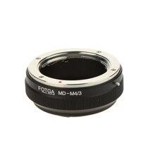 Адаптер Fotga/3 для цифровой камеры, кольцо Minolta MD MC, объектив к микрокамере с креплением 4/3 (для G1, G2, Olympus, MD-M4 и т. д.)