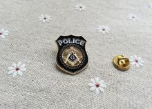 10pcs wholesale badges masonic lapel pin factory produce customized freemason masonry brooches pins square compass for Police