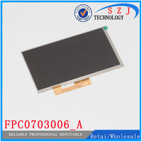 Original 7 Inch LCD Display Matrix FPC0703006 A FPC0703006 3G TABLET 1024 600 LCD Screen Lens