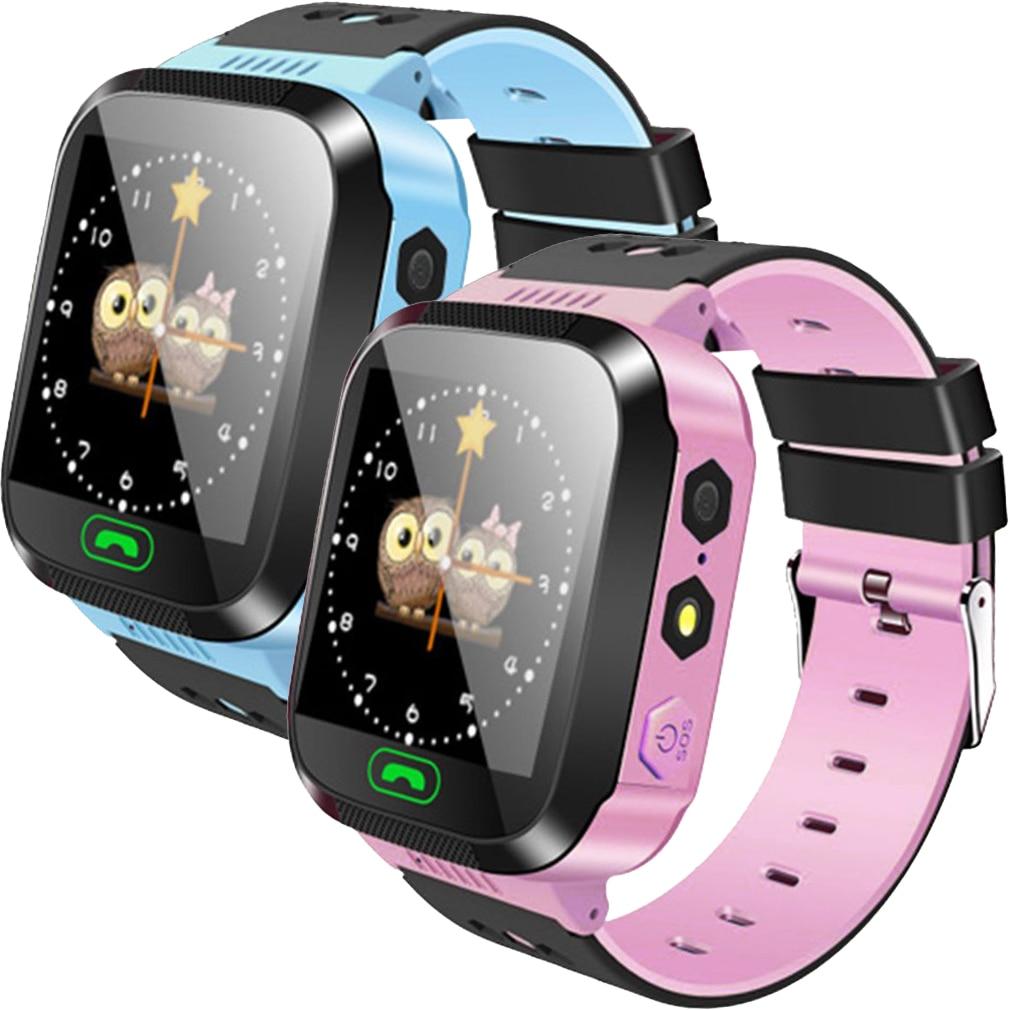Billig Smart Uhr Kinder Armbanduhr Touch Screen Anti-Verloren Smartwatch Baby Uhr Mit Fernbedienung Kamera SIM Anrufe Geschenk Für kinder