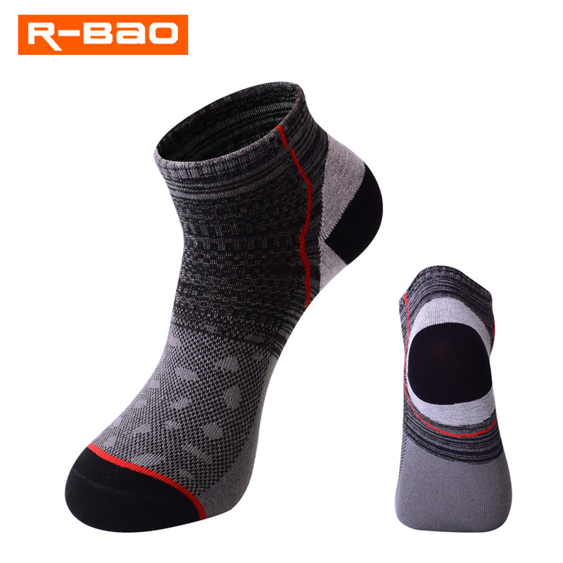 running - Men Summer Sports Soft Socks Cotton Fitness Cycling Running Tennis Low Cut Socks Breathable Absorb Sweat Calcetines