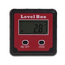 купить Durable Digital Inclinometer Spirit Level Protractor Angle Gauge Meter Bevel дешево