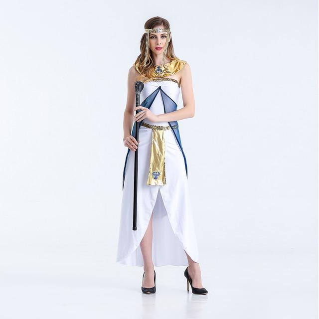 VASHE JIANG Griechische Göttin Kleid frauen Phantasie Kleid ...