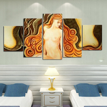 Body art modern abstract unframed oil painting on canvas hand painted naked women pictures home decoration