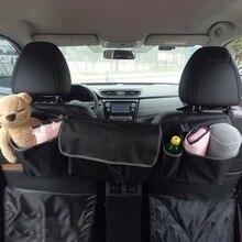 Багажник автомобиля, организатор сиденье сумка для хранения Высокое Ёмкость Multi-использовать ткань Оксфорд заднем сиденье автомобиля организаторы аксессуары для интерьера