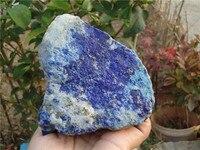 1030 جرام المواد الخام غير المعالجة الطبيعية اللازورد المعدنية القديمة من أفغانستان PT1030 112 ملليمتر x 140 ملليمتر