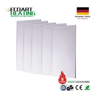 2250W Infrared Heating Panels Carbon Crystal IR Panel (5X450W per Units) Germany Stock