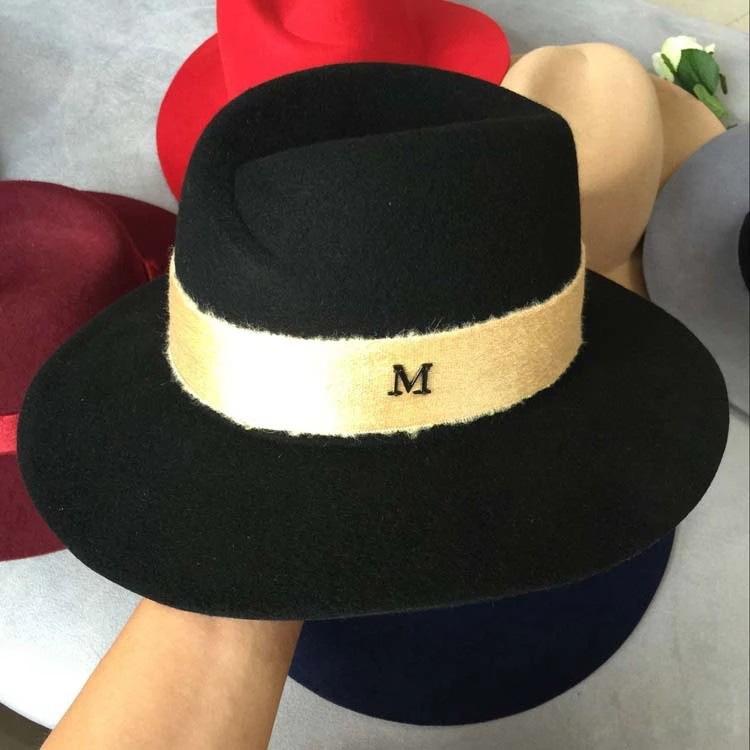 chapeau femme classique Ruban Velours
