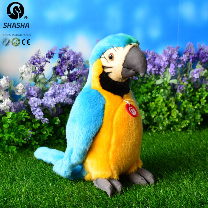 Simulation  Macaw  Doll  Plush Birds Toys   Green  Science Dolls  Holiday Gift toy shops handbooks in operations research and management science simulation 13