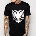 Albania Eagle T Shirts Men Fashion Print Hip Hop T-shirts O Neck Cotton Mens Tshirts Free Shipping Man Tops Tees
