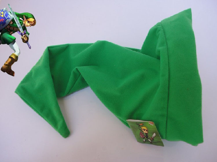 Game The legend of Zelda Link Cosplay Hat Soft Plush Green Beanies Cap Cosplay Accessories Party Halloween Gift