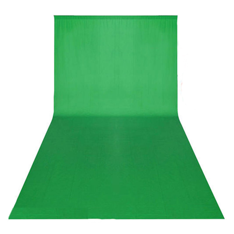 Photo Vert Écran chroma key 10x20ft/3x6 m Toile De Fond De Fond Photographique