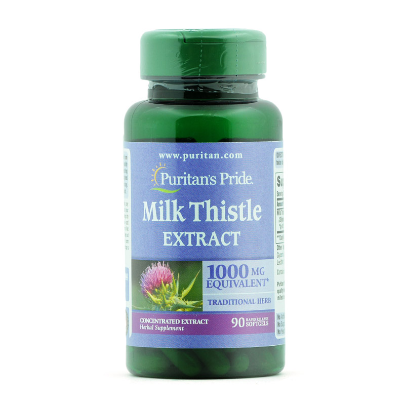 Milk Thistle Extract 1000 Mg 90 Pcs 180pcs цена