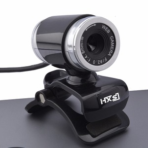 Image 5 - HXSJ A860 HD Webcam 12.0M פיקסלים CMOS USB אינטרנט מצלמה דיגיטלי וידאו HD מובנה מיקרופון 360 תואר rotaion קליפ על מצלמה