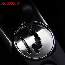 Нержавеющая сталь formobile gear крышка наклейки s автомобильные аксессуары 3D наклейка автомобиля-Стайлинг для Mitsubishi ASX 2010 2011 2012 2013