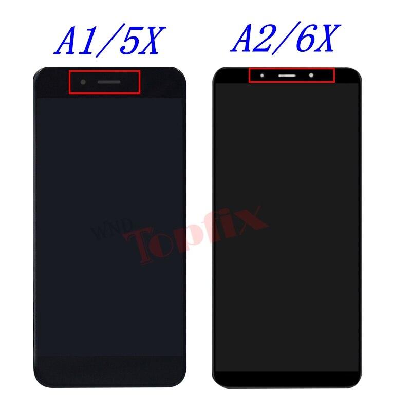 Mi A1 A2 5X 6X LCD Display
