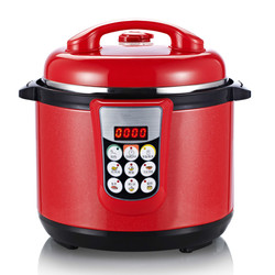 Electric Pressure Cookers pressure cooker double bravery genuine intelligent 5 people -6 electric cooker.5L