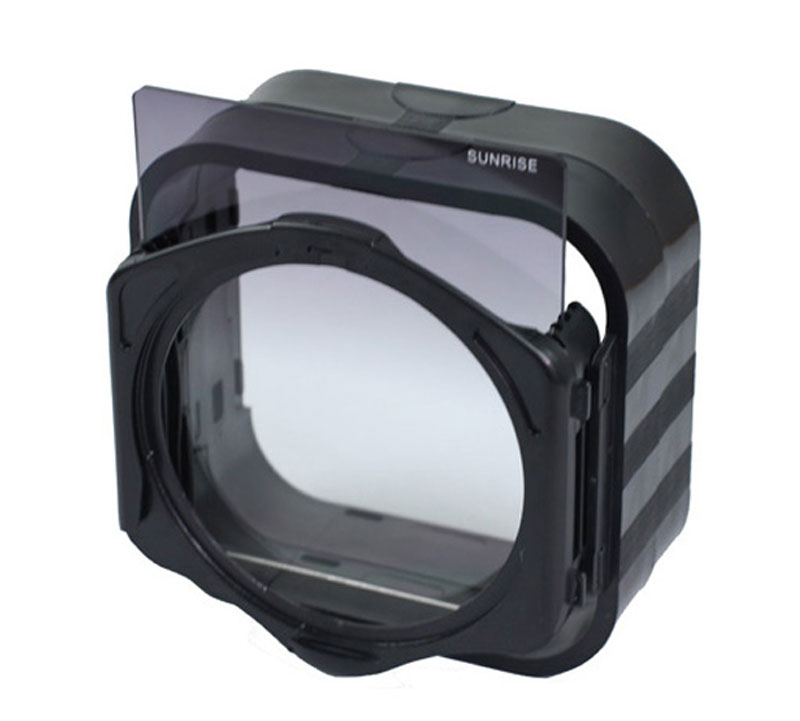 Square Filter Lens Hood Compatible with Cokin P Series Square Filters (2)