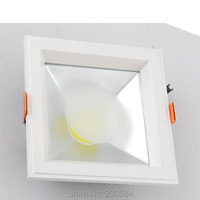 20w recessed led indoor square downlight, delicate appearance ceiling kit with TUV SAA led driver