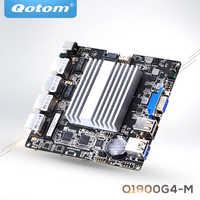QOTOM 4 LAN Mini ITX carte mère Q1900G4-M avec processeur BayTail j1900 et carte mère 4 Gigabit, routeur PFSense à quatre cœurs