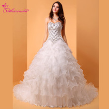 Alexzendra Sweetheart Ball Gown Wedding Dress Bridal Gown