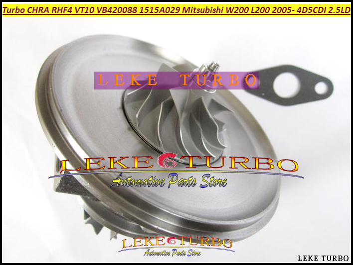 Free Ship RHF4 VT10 1515A029 VB420088 Turbo CHRA Turbocharger Cartridge For Mitsubishi W200 car L200 Truck 4D5CDI 2.5L Di-D 4WD turbo cartridge chra core rhv4 vt16 1515a170 vad20022 for mitsubishi triton intercooled pajero sport l200 dc 06 di d 4d56 2 5l
