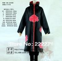 NARUTO Akatsuki Deidara Cosplay Mantel Kleding Kostuum opstaande Kraag Hot Gratis Track