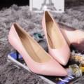 Mulheres Nova Primavera Verão Finos Saltos Med Moda Dedo Apontado Sexy Bombas Mulheres Sapatos de Couro Genuíno Ocasional Do Escritório SMYCN-A0034
