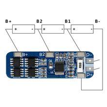 Smart Electronics 3S 12V 18650 10A BMS Charger Li-ion Lithiu