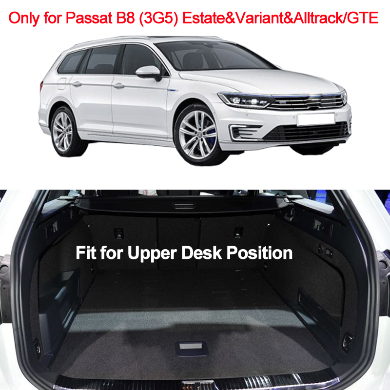 Image 3 - Car Rear Trunk Mat Cargo Tray Boot Liner Carpet Protector Floor For VW Passat B8 (3G5) Estate & Variant & Alltrack/GTE 2014 2019