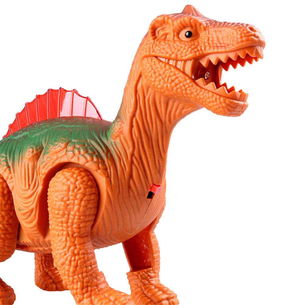 전자 걷는 로봇 공룡 모형 아이 장난감 선물 빛 빛나는 공룡 물자: 플라스틱 크기: 23*15*6.5cm