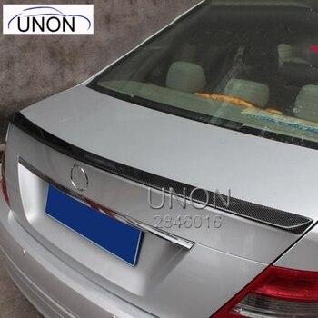 לנץ W204 ספוילר סיבי פחמן רכב אחורי אגף ספוילר לנץ W204 C180 C200 C260 C280 C300 C74 ספוילר 2008-2014