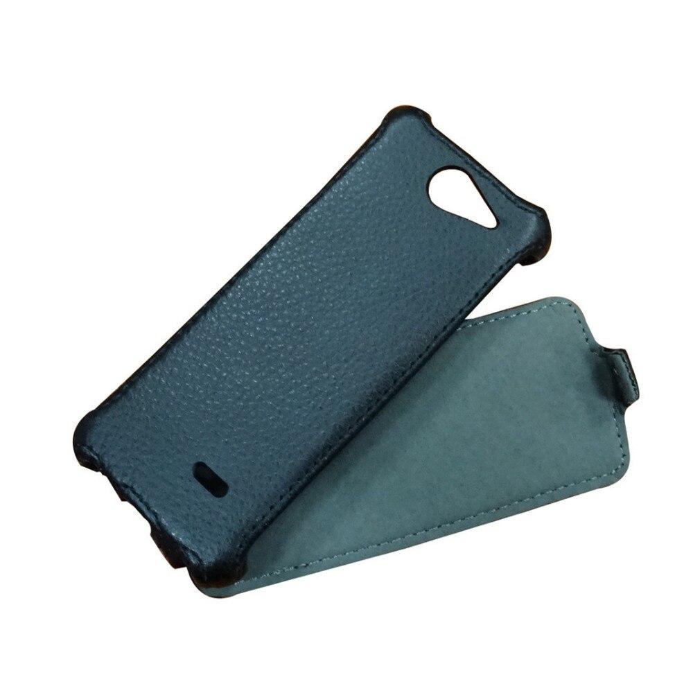 Haute Qualité Flip Étui En Cuir pour philips xenium x5500 Couverture de téléphone + Livraison Gratuite