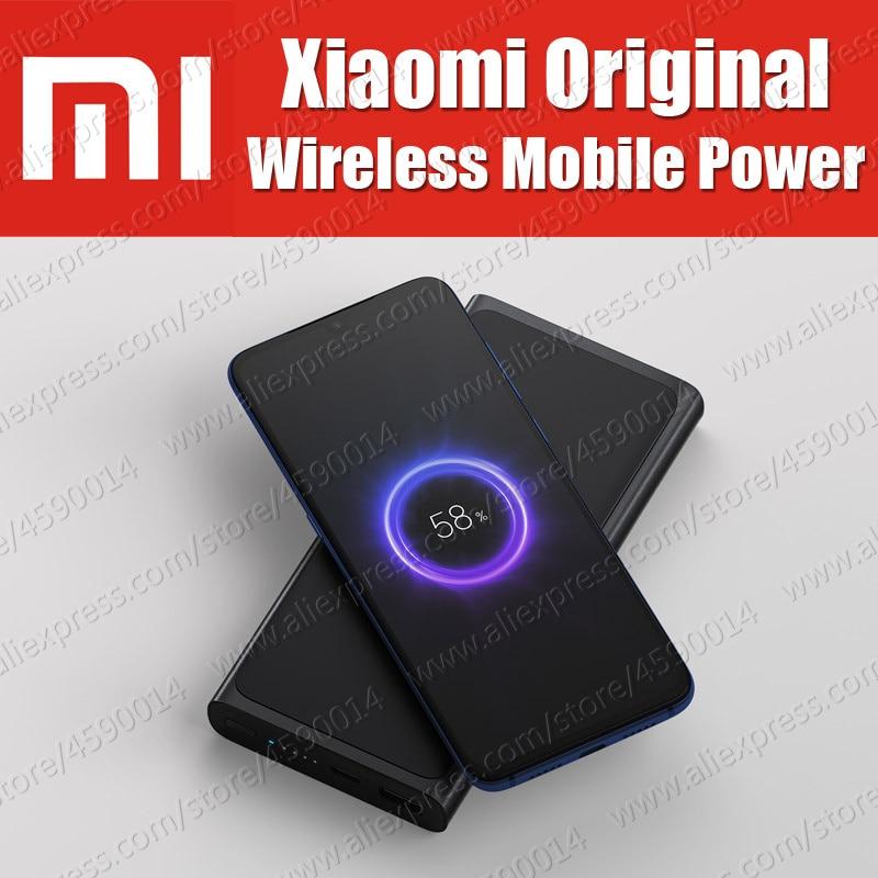 En stock PLM11ZM 10 W 10000 mAh D'origine 100% Xiaomi Sans Fil Mobile Power Chargeur appliquer à Xiaomi Mi9