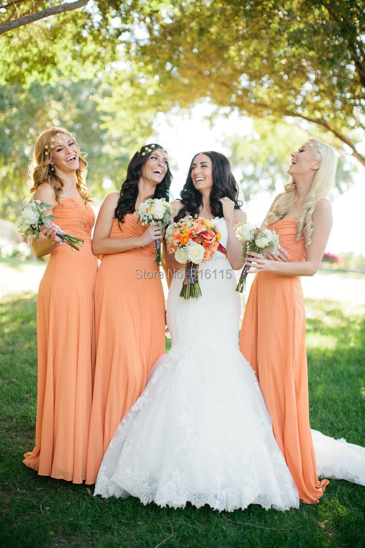 Autumn Wedding Bridesmaid Dresses