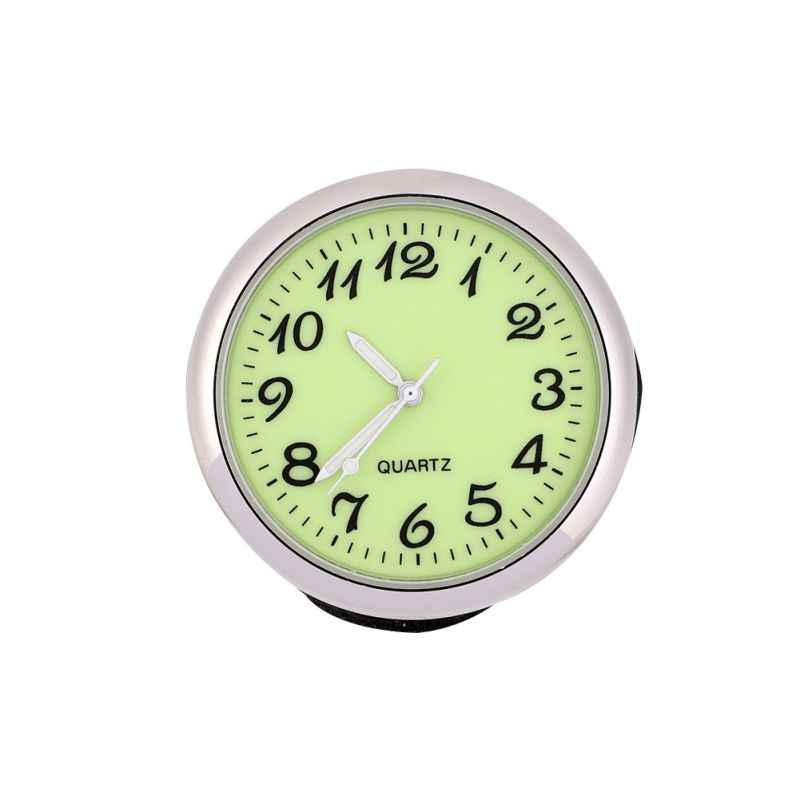 Luminous Clock Thermometer Hygrometer Automobile Car Dashboard Decoration Ornaments Automotive Watch Car Styling Accessories