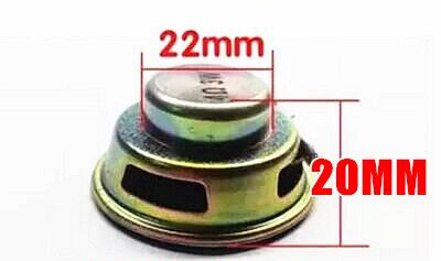 Fast Free Ship 2pcs Mini Speaker 1.5 inch 4ohm 3W small horn/whole frequency loudspeakers plug-in card 40mm AUDIO SPEAKER
