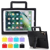 For Fundas Apple IPad Air Case Super Kids Children Protection Cover Light Weight EVA Foam Handle