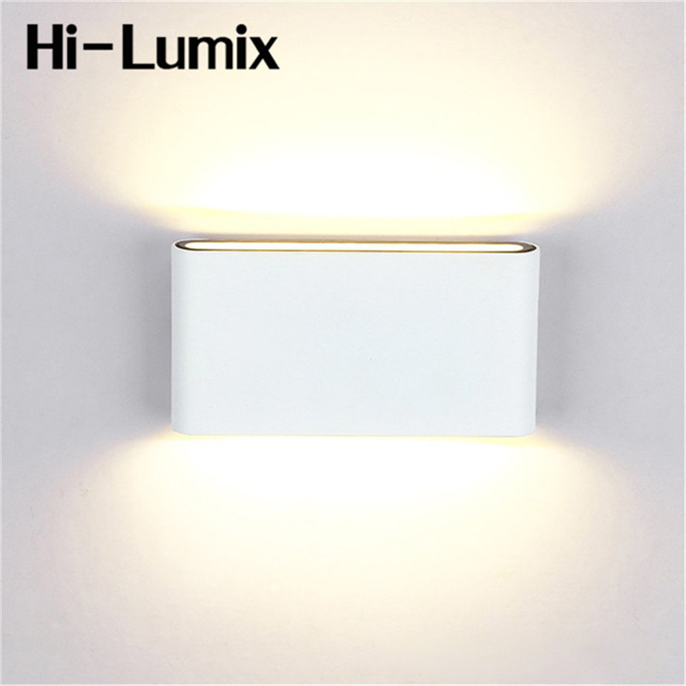 Outdoor Wall Lamps IP65 Waterproof Wall Light 6W 12W AC85-265V COB Led Sconces Modern Home Lighting Indoor Outdoor Decoration