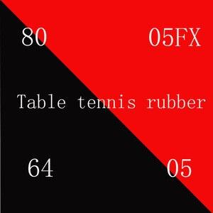 Image 1 - الجملة + بيع عالية الجودة الأحمر الإسفنج تنس طاولة شفرة مطاطية تنس طاولة تنس طاولة تنس طاولة مضرب بينغ بونغ المطاط