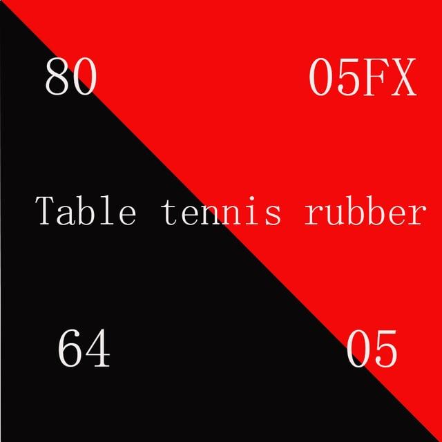 الجملة + بيع عالية الجودة الأحمر الإسفنج تنس طاولة شفرة مطاطية تنس طاولة تنس طاولة تنس طاولة مضرب بينغ بونغ المطاط